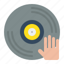 birthday, cd, dj, event, music, party icon