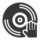 birthday, cd, celebration, dj, music, party icon