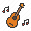 guitar, instrument, music, party icon