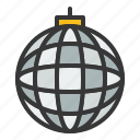 club, disco ball, mirror ball, party icon