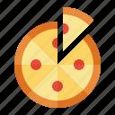 fast food, food, italian, pizza icon