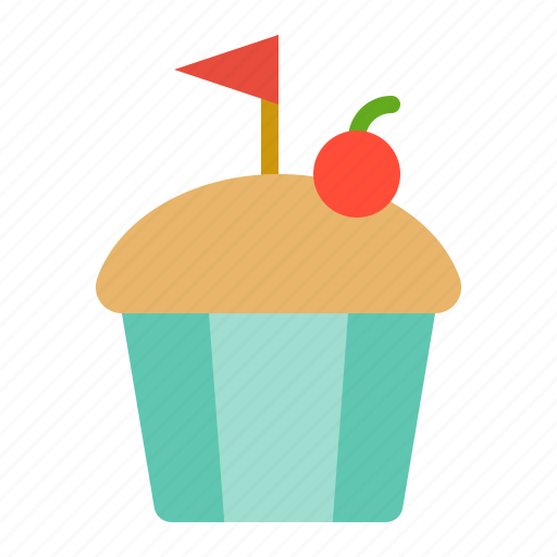 cake, cupcake, muffin, sweets icon
