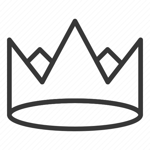 crown, king, monarchy, royal, winner icon