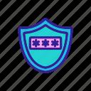folder, opened, padlock, password, protection, security, storage