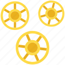 pasta, rotelle, rotelle icon, ruote