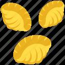 conchiglie, conchiglie icon, pasta, shell