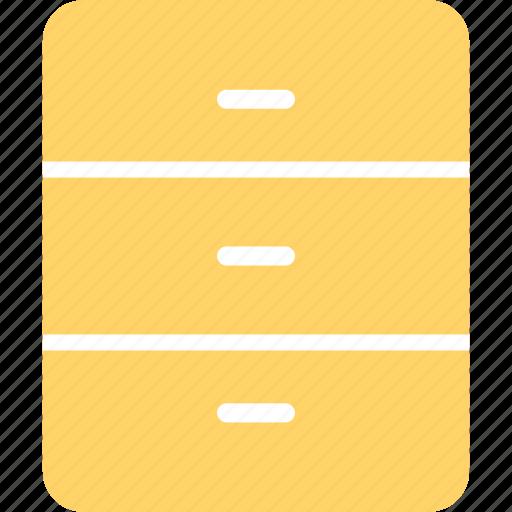 bureau, chest, drawer, dresser, house, interior icon