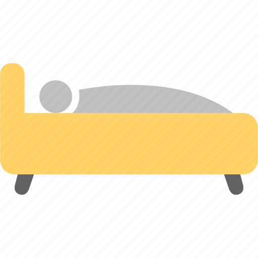 bed, bedroom, hotel, house, interior, sleep icon