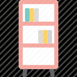 book, bookcase, bookshelf, house, interior icon