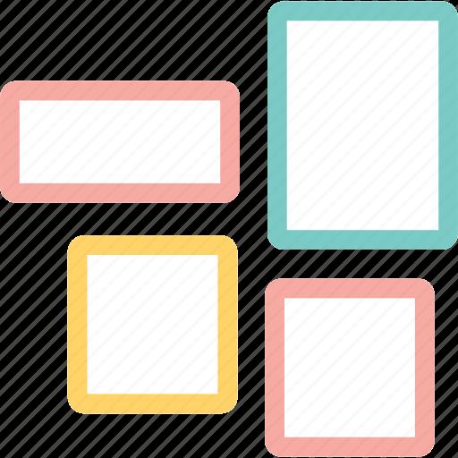 frame, house, interior, photo icon