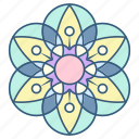 flower, decoration, floral, ornament, mandala