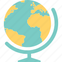 earth, geography, globe, map, school, study icon