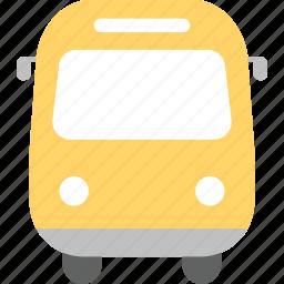 bus, elementary school, high school, school, school bus, schoolchild, student icon