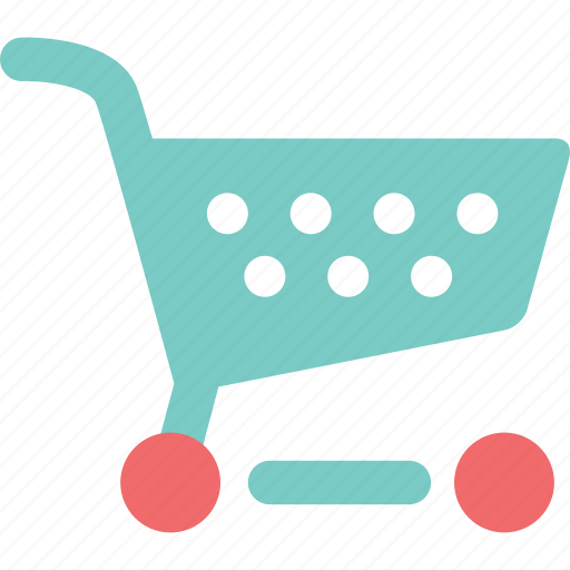 cart, commerce, grocery, market, shopping, shopping cart, trolley icon