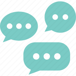 customer service, letter, shopping, sns, social media, speech bubble, word icon