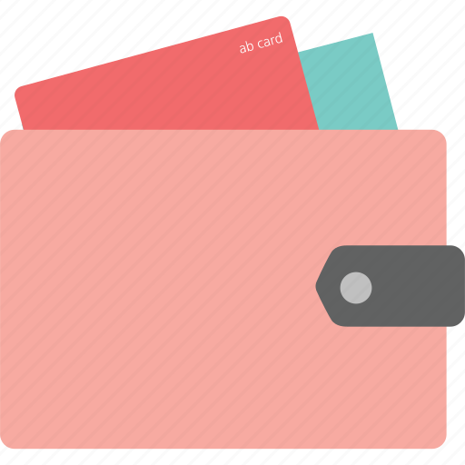 business, commerce, credit card, money, purse, shopping, wallet icon