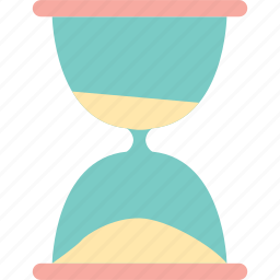 clock, hourglass, sandglass, time icon
