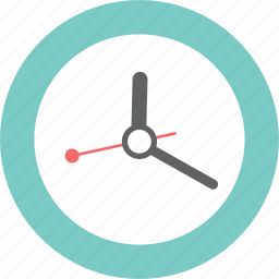 clock, interior, shopping, study, time, work icon