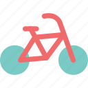 bicycle, bike, cycle, sports, stroll, trip, workout icon