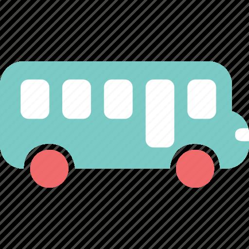 bus, car, city, school bus, tour, town icon