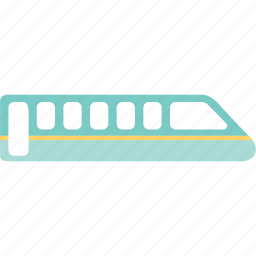 railway, suvway, tour, train, trip, vacation icon