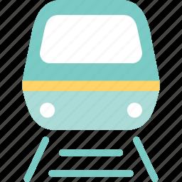 railway, suvway, tour, train, trip, vatation icon