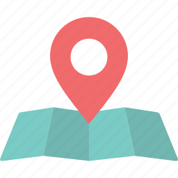 location, lough map, map, position, site, travel, trip icon