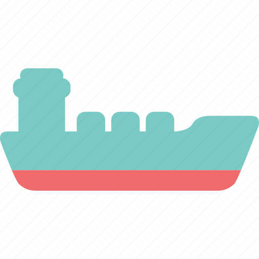 cargo ship, export, freighter, income, oil tanker, ship, shipping icon