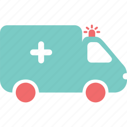 ambulance, car, emergency, hospital, invaild, patient, sick icon