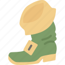 boot, gingerbeard, holiday, holidays, leprechaun, patrick's day icon