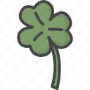 clover, colored, holiday, holidays, luck, patricks day, shamrock icon