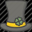 colored, hat, holidays, leprechaun, shamrock icon