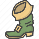 boots, colored, gingerbeard, holiday, holidays, leprechaun, patricks day icon