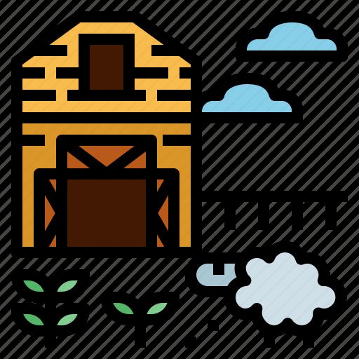 animal, farm, mammal, sheep, wool icon