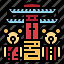 bear, museum, pattaya, teddy, thailand icon