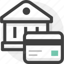 account, bank account, credit card, finance, payment icon