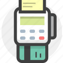 bill, bills, cashier, invoice, money, pos, receipet icon