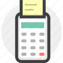 cash, finance, money, payment, pos icon