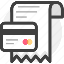 bill, bills, business, finance, invoice, money, receipet icon