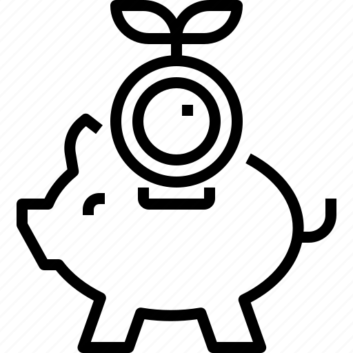 Cash, coin, currency, finance, money, piggy, profit icon - Download on Iconfinder