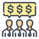 business, dollar, finance, invest, investor, money, payment icon