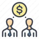 business, coin, dollar, finance, investment, investor, money icon