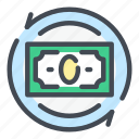 bank, banking, cash, dollar, finance, money, transaction icon