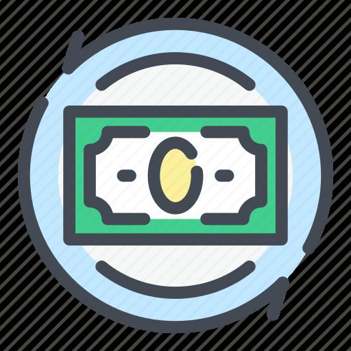 Bank, banking, cash, dollar, finance, money, transaction icon - Download on Iconfinder