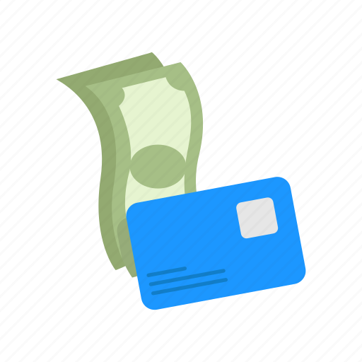 bill, credit card, money, payment icon