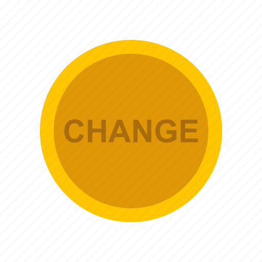 change, coin, gold, gold coin icon