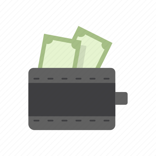 bill, money, purse, wallet icon