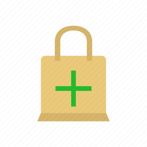 Add, add item, bag, plus, shopping bag icon - Download on Iconfinder