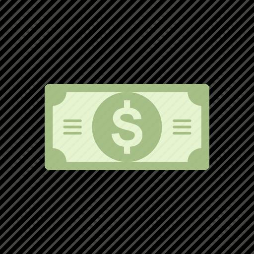bill, cash, currency, dollar icon
