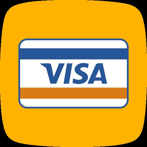 card, method, payment, visa icon